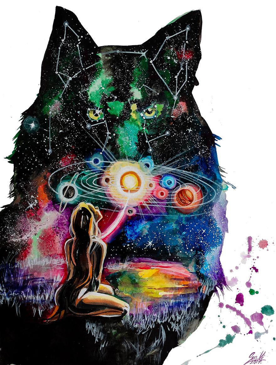 Deep Like A Universe