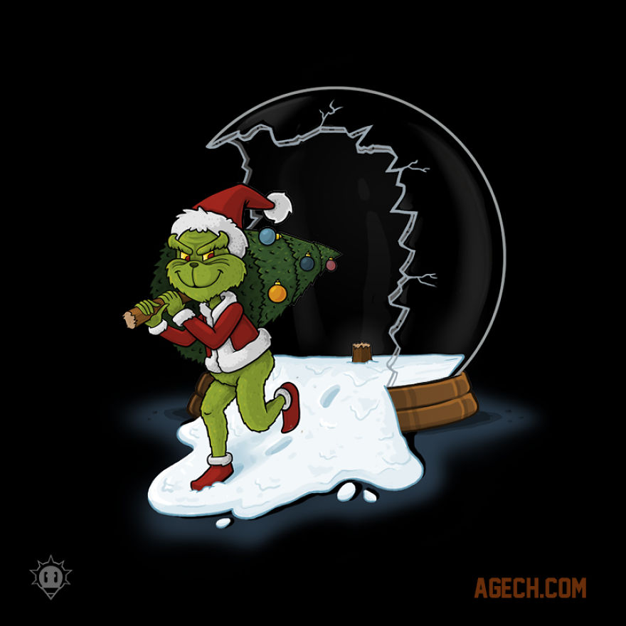 The Grinch door Alvaro Gech