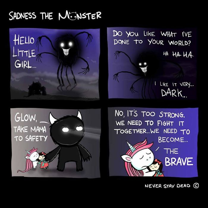 Sadness The Monster