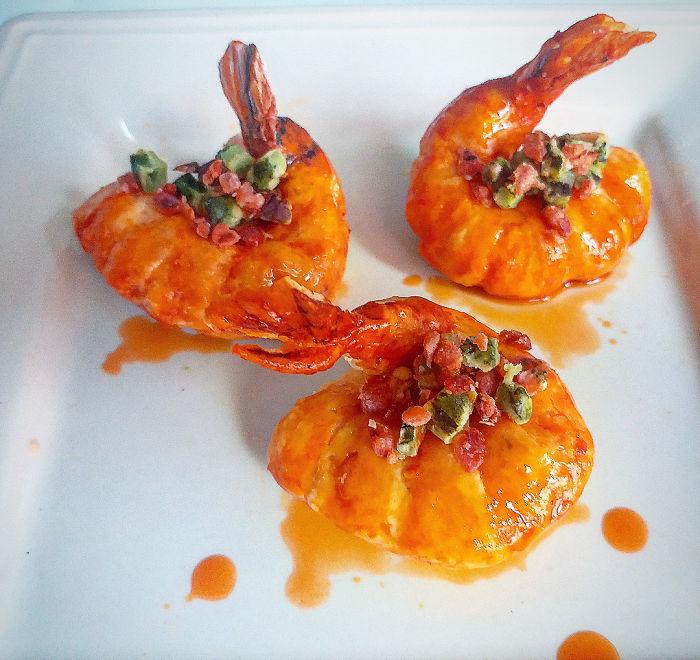 Savory Shrimp Soap Art