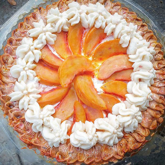 Peaches And Cream Soap Pie