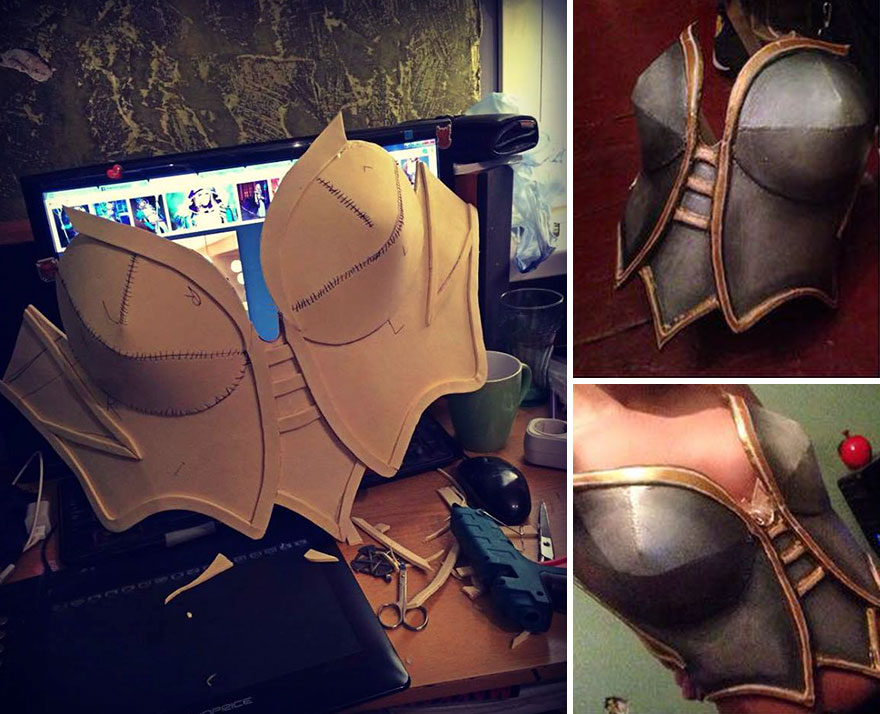 """I Spend Hours Creating Cosplay Costumes From """"Nothing"""""""