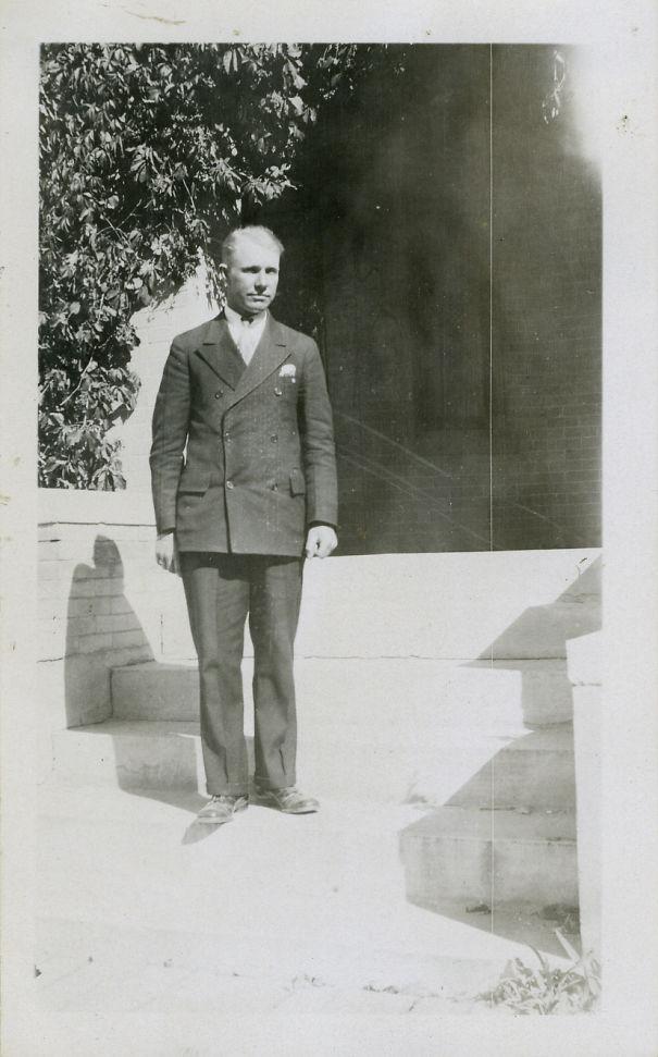 My Grandpa Looking Dapper In 1926