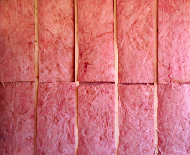 Fiber Insulation Looks A Lot Like Cotton Candy