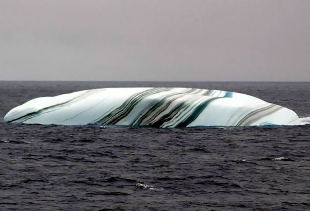 This Iceberg Looks Like A Giant Piece Of Candy
