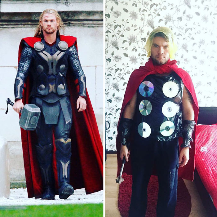 Low Budget Cosplay