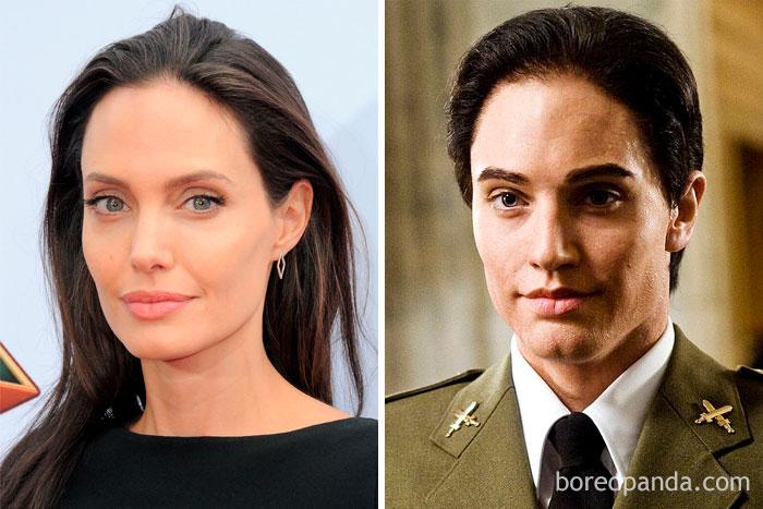 Angelina Jolie - Male Aide (Salt)