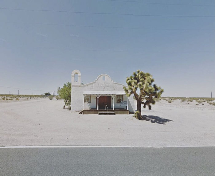Outskirts Of The City Of Lancaster, California, Usa
