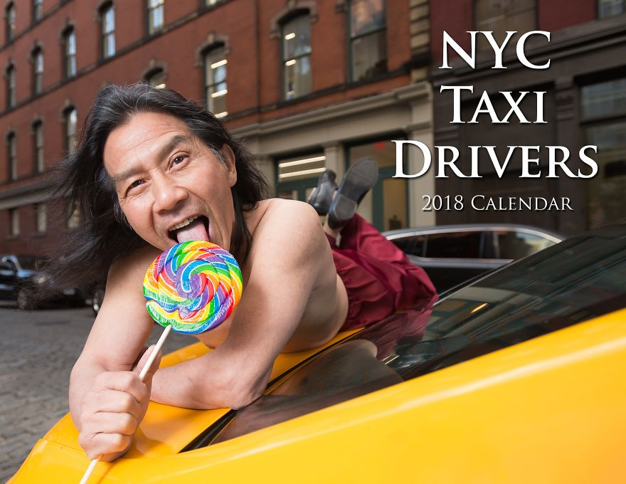 Calendar Gathers New York Taxi Drivers In Sexy Poses And The Result Is A Lot Of Fun