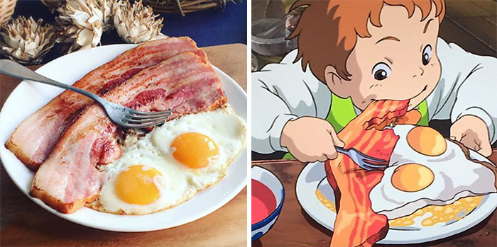 Japanese Woman Recreates Food From Miyazaki Films And Other Anime