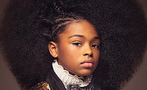 Baroque-Inspired Portraits Of Black Girls Highlight Their Amazing Natural Hair So Other Girls Would Stop Hiding It