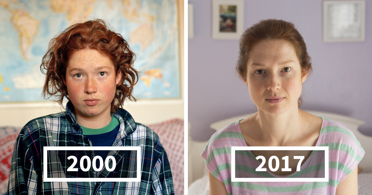 Photographer Photographs Her Friends In 2000 And Then In 2017 Again, Shows How Differently People Age