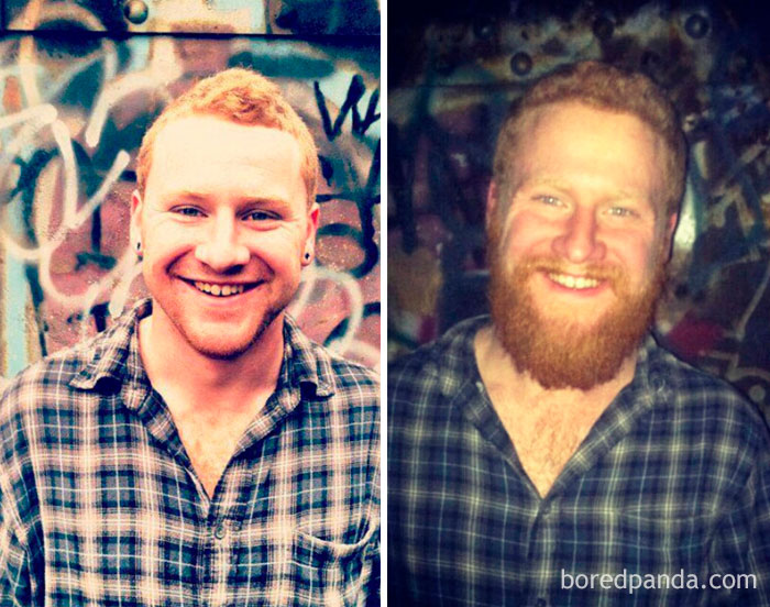 Before And After Why Shave Winter