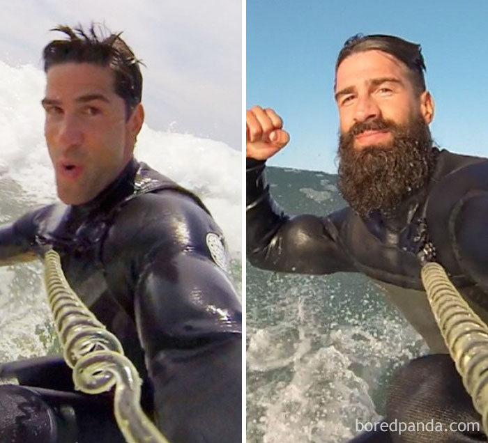 Before And After Beard Season