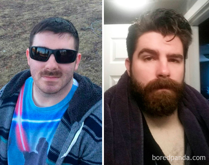 Compared To Last Year's Militarily Restricted Attempt, My Participation In Movember Has... Grown