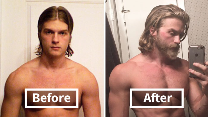 30+ Before & After Pics That Will Make You Reconsider Shaving Your Beard