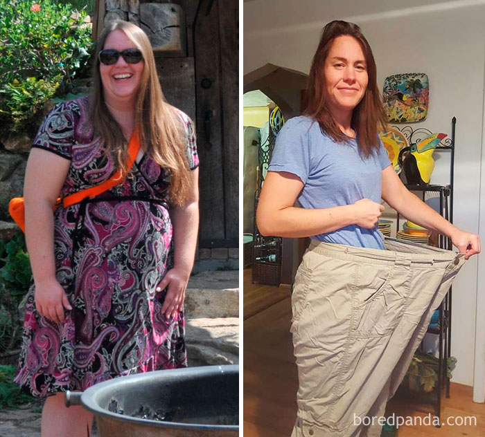 197 Amazing Before After Weight Loss Pics That Are Hard To Believe Show The Same Person Bored Panda