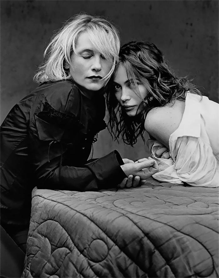 Isabelle Huppert And Emmanuelle Béart