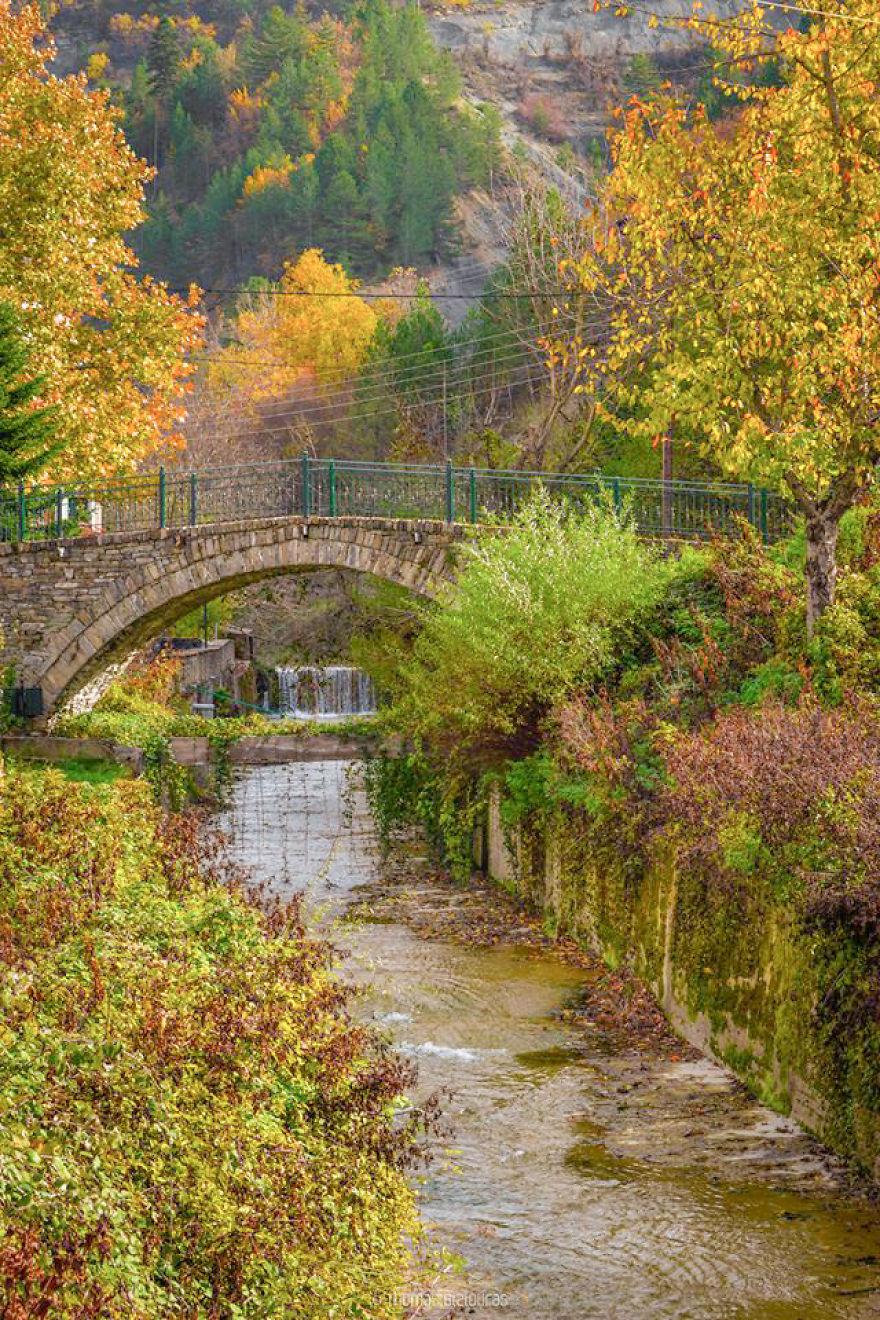 Eptachori Bridge, Kastoria. Built Before 1900