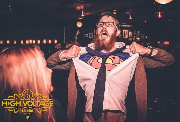 My Halloween Clark Kent – Taken At A More Drunk Time Of The Day