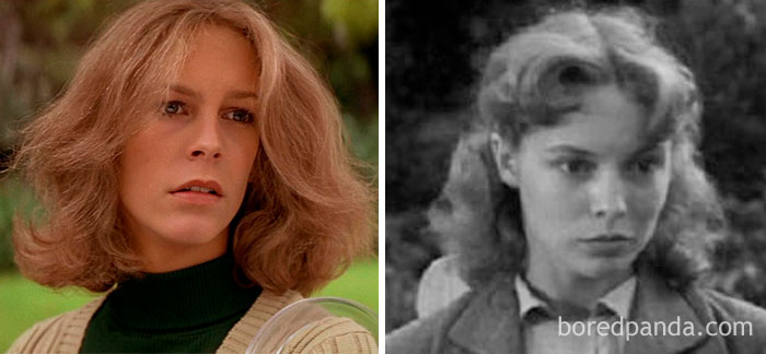 Jamie Lee Curtis And Janet Leigh At Age 20