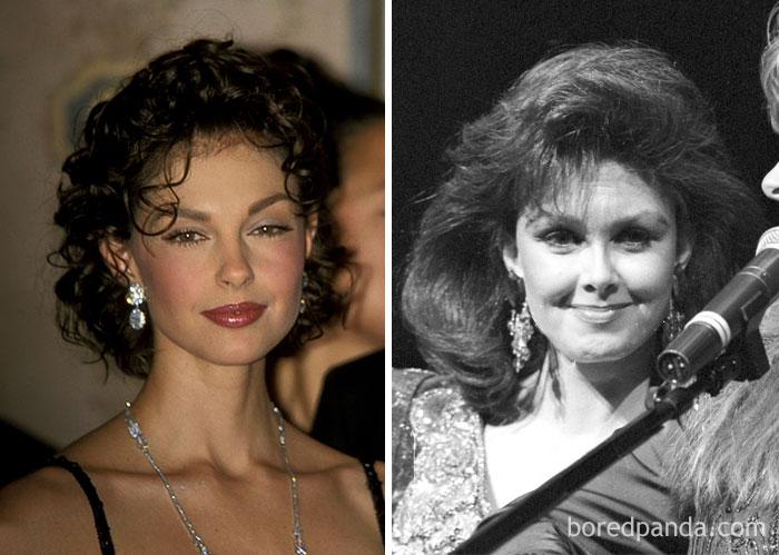 Ashley Judd And Naomi Judd At Age 30
