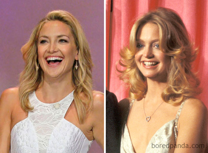 Kate Hudson And Goldie Hawn At Age 33