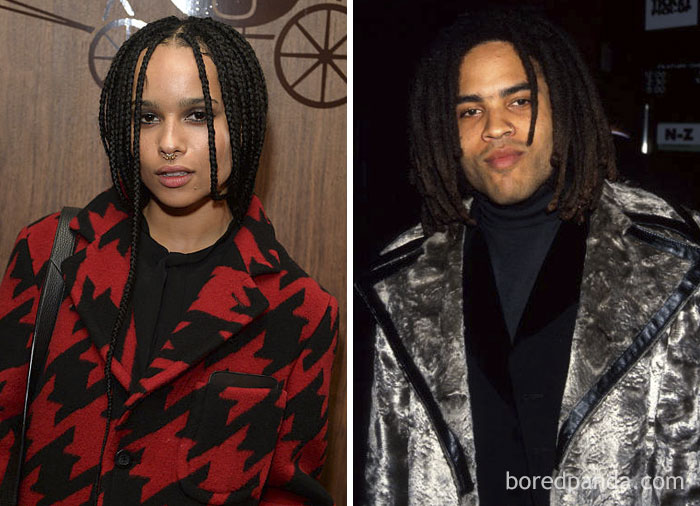 Zoë Kravitz And Lenny Kravitz At Age 26