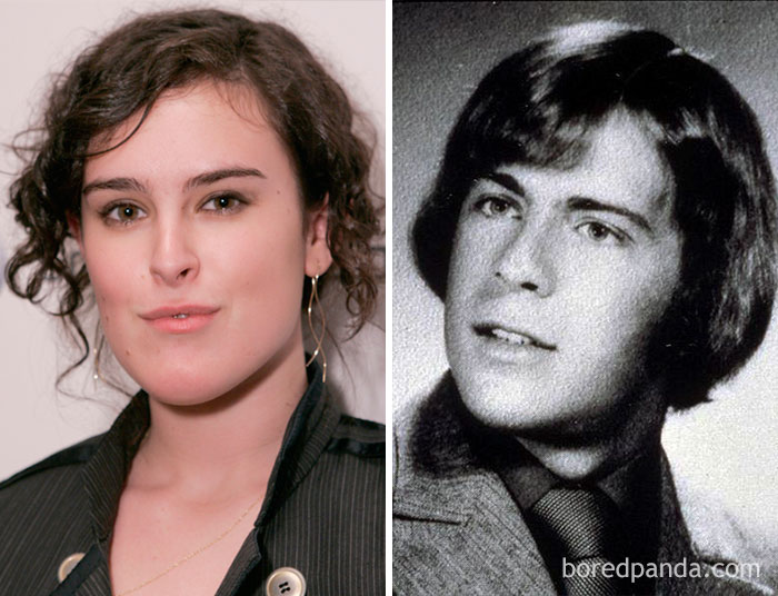 Rumer Willis And Bruce Willis At Age 18