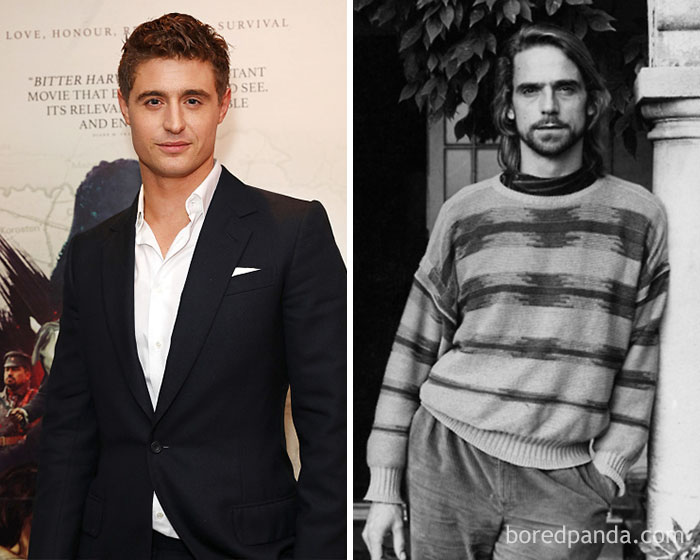 Max Irons And Jeremy Irons At Age 32