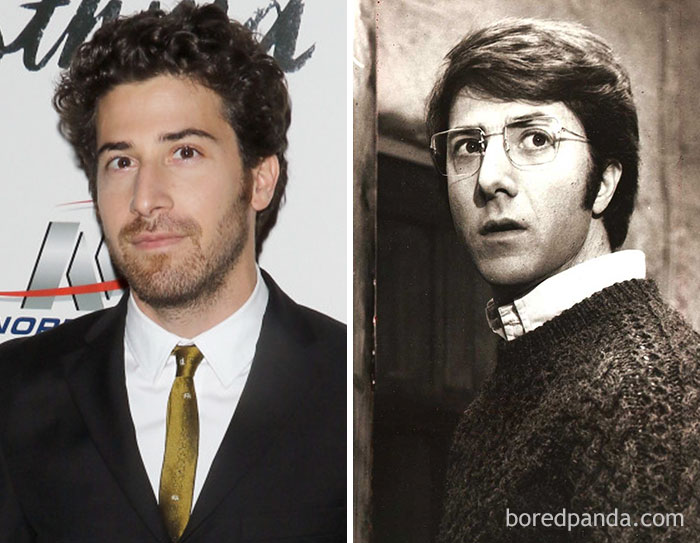 Jake Hoffman And Dustin Hoffman At Age 34