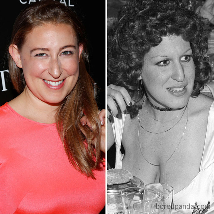 Sophie Von Haselberg And Bette Midler At Age 29