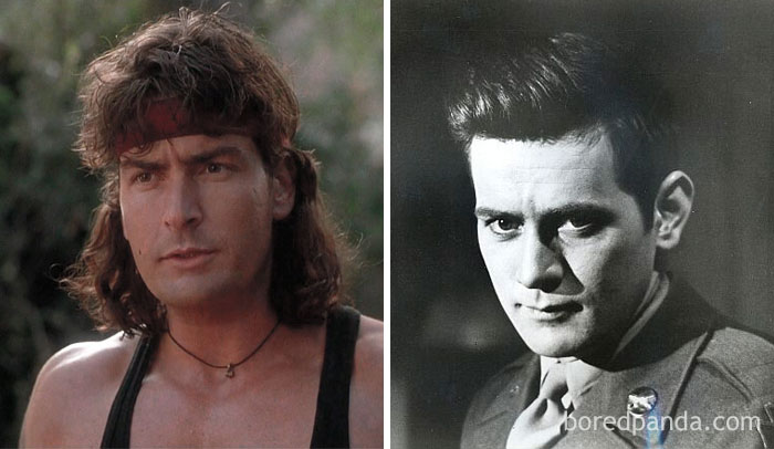 Charlie Sheen And Martin Sheen At Age 28