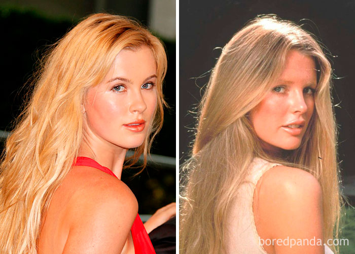Ireland Baldwin And Kim Basinger At Their 20s