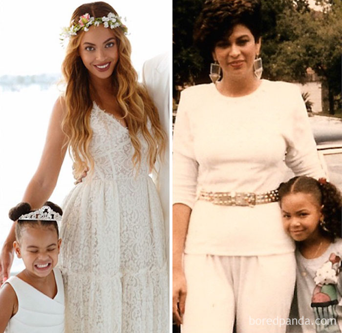 Beyonce And Tina Knowles In Their 30s