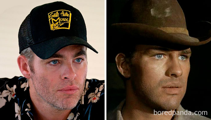 Chris Pine And Robert Pine In Their 30s