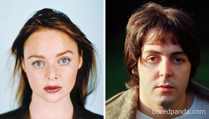 Stella McCartney And Paul McCartney At Age 27
