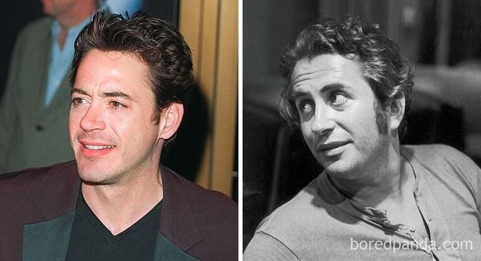 Robert Downey Jr. And Robert Downey Sr. At Age 34