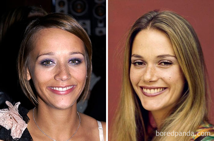 Rashida Jones And Peggy Lipton At Age 26