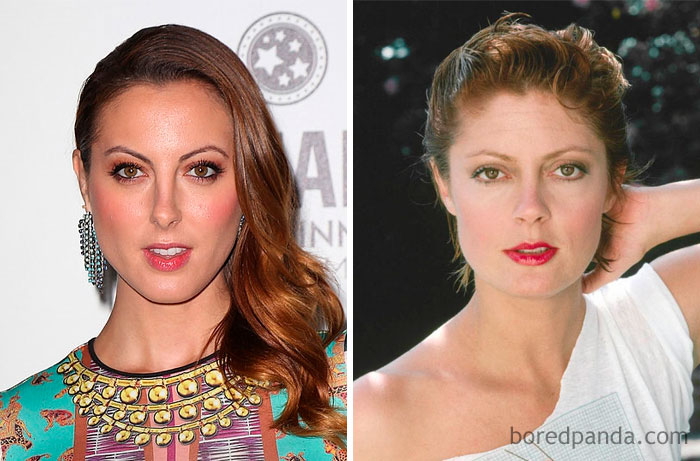 Eva Amurri Martino And Susan Sarandon In Their 30s