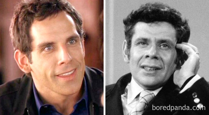 Ben Stiller And Jerry Stiller At Age 39