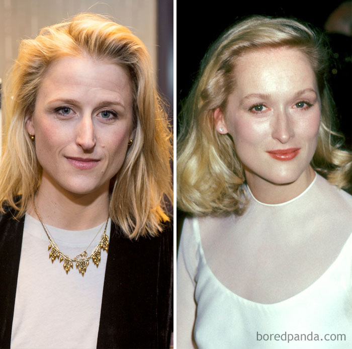 Mamie Gunner And Meryl Streep In Their 30s