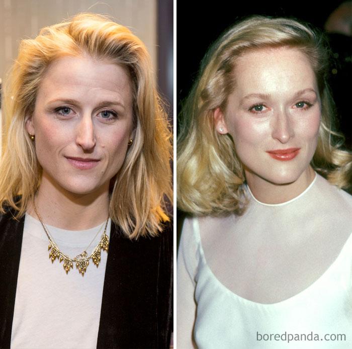 Mamie Gunner And Meryl Streep In Their 30s