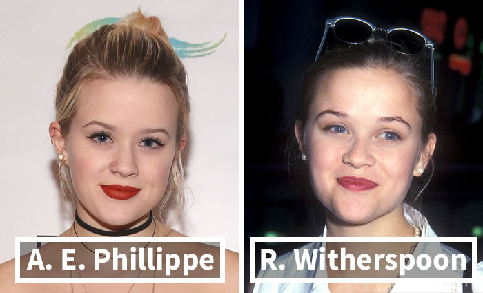 53 Celebrities And Their Parents At A Similar Age That Will Make You Look Twice