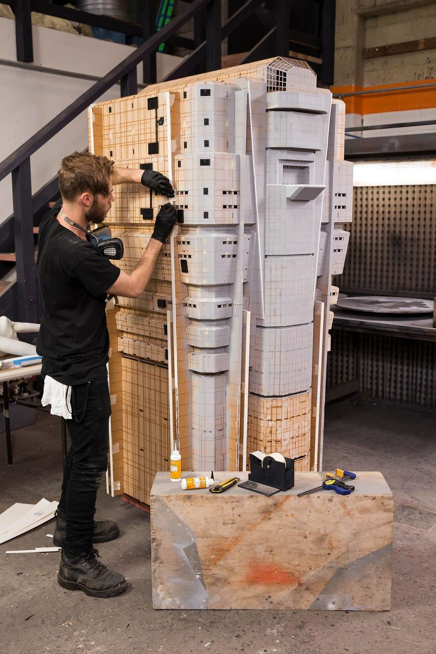 Youll Never Look At Movies The Same Once You See These Miniature - The miniature set used for blade runner 2049 will change the way you see movies