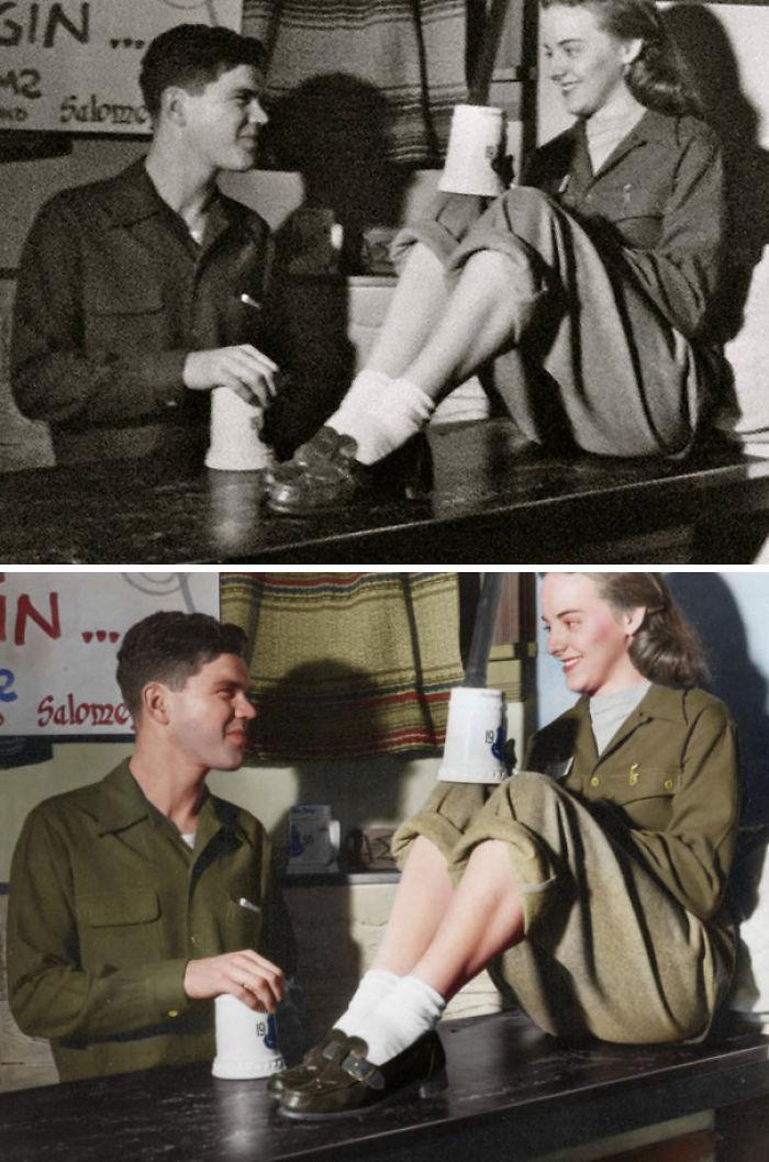 Mi Abuela Falleció Recientemente. Mi Abuelo Me Envió Esta Imagen Para Que Conociese El Aspecto De Un Hombre Cuando Está Enamorado. Estuvieron Casados Más De 60 Años