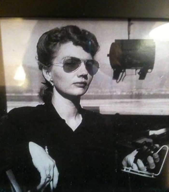 My Grandma As An Air Traffic Controller. She Would Have Been 97 On 3/11