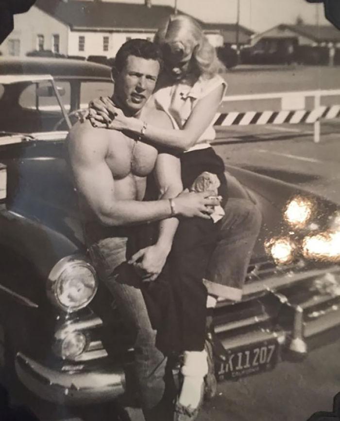 My Friend's Grandparents, California, 1940s