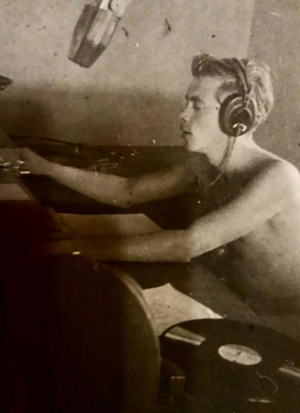 Просто мой дед как 19-летний ди-джей в Триполи, 1948