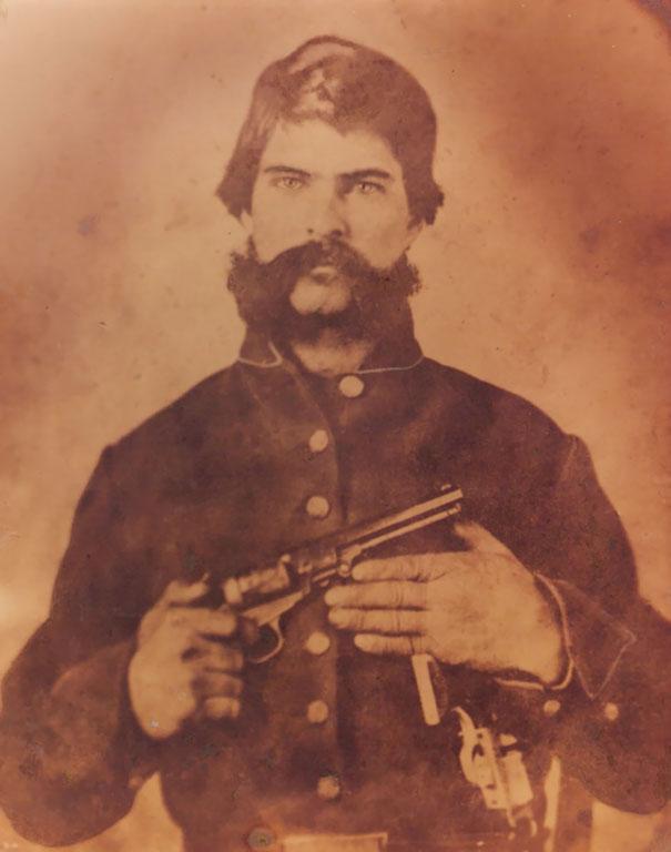 Мой дедушка 4-х Великих был красивым и опасным (около 1860 года)